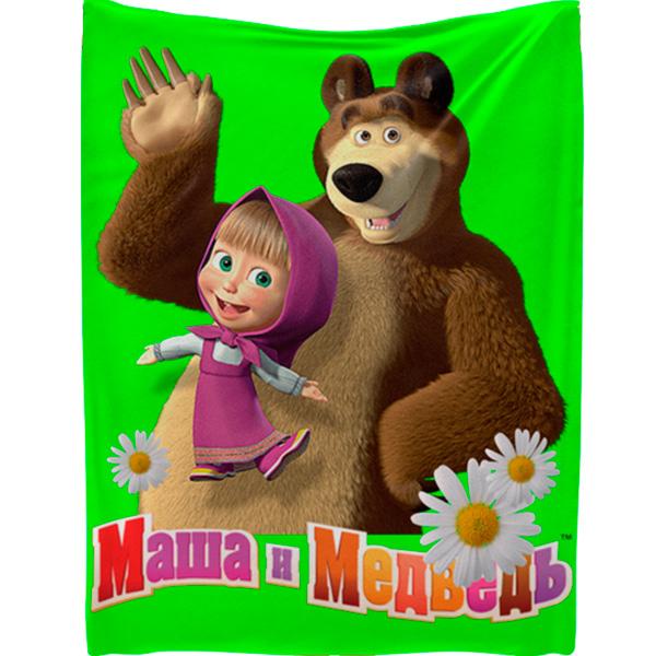 """Плед """"Маша и Медведь"""""""